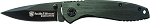 Smith and Wesson Executive Frame Lock Drop Point Blade Steel Handle Folding Knife