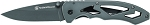 Smith and Wesson Frame Lock Large Drop Point Folding Knife (CK400L)