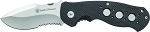 Smith and Wesson Extreme Ops Liner Lock Drop Point G-10 Folding Knife Serrated Edge (SW601S)