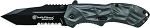 Smith and Wesson Black Ops M.A.G.I.C. Assisted Opening Liner Lock Folding Knife Partially Serrated Tanto