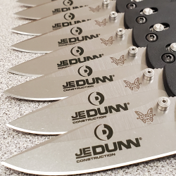 Benchmade Logo Engraving