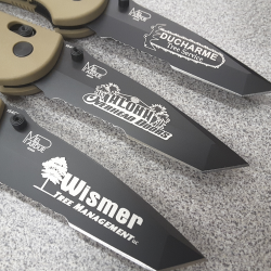 Benchmade Engraved Knives
