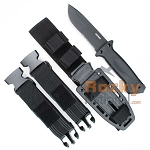 Gerber LMF II Infantry - Black with Sheath (22-01629)
