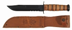 Ka-Bar Army Fighting Utility Knife- Serrated w/Sheath(1219)