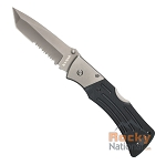 Ka-Bar G-10 Mule Folder II Tanto Serrated Edge